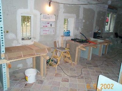 Salle de bain cuisine avec la sarl rambour ma onnerie for Dessiner ma cuisine sur mesure
