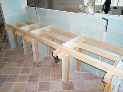 salle de bain cuisine avec la sarl rambour maçonnerie - Meuble De Cuisine Sur Mesure